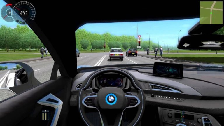 070 Let's Play City Car Driving – BMW i8 [Deutsch] [Full-HD]